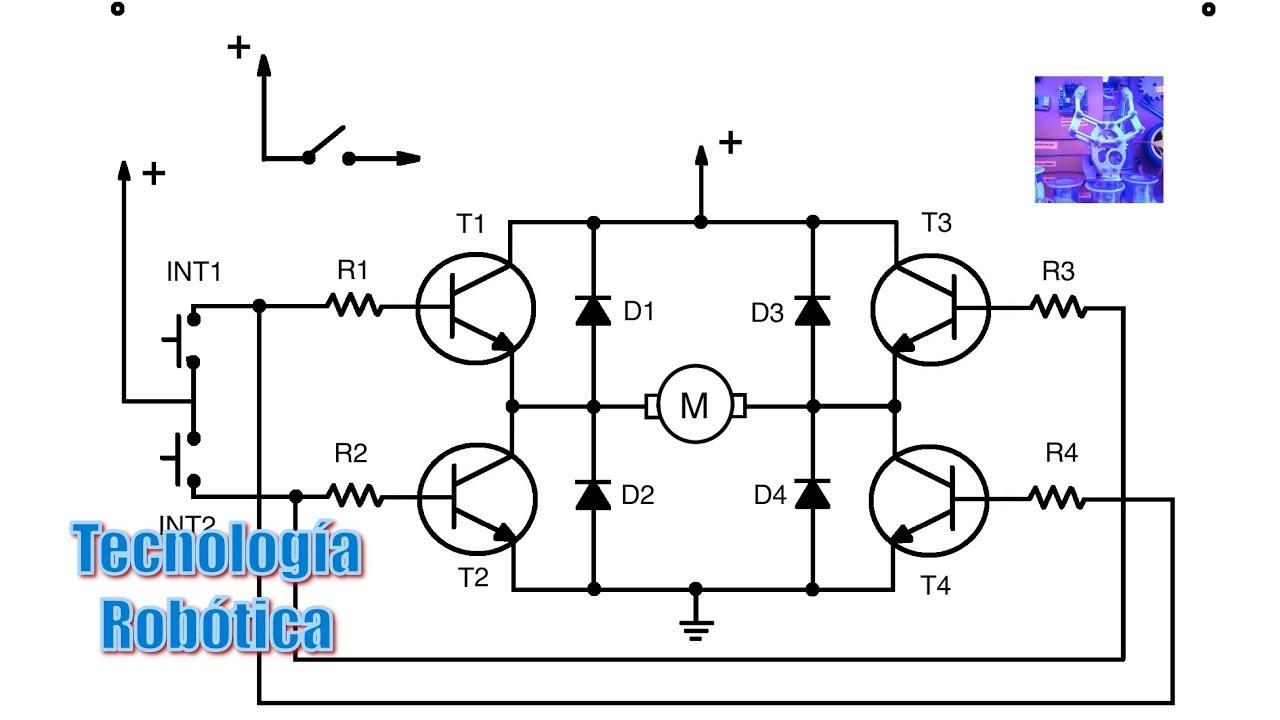 Circuito H : Tecnología robótica circuito h funcionamiento youtube