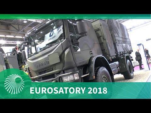 Eurosatory 2018: Iveco Defence Vehicles EuroCargo and Trakker military truck ranges
