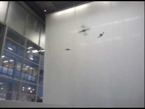 TrendONE - Quadcopter-Test an der ETH in Zürich