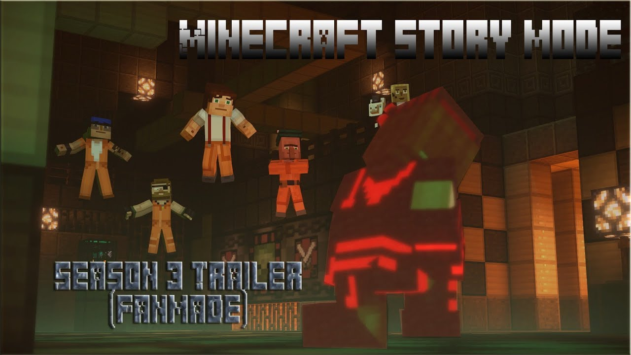 Minecraft Story Mode Season 3 Trailer Fanmade Youtube