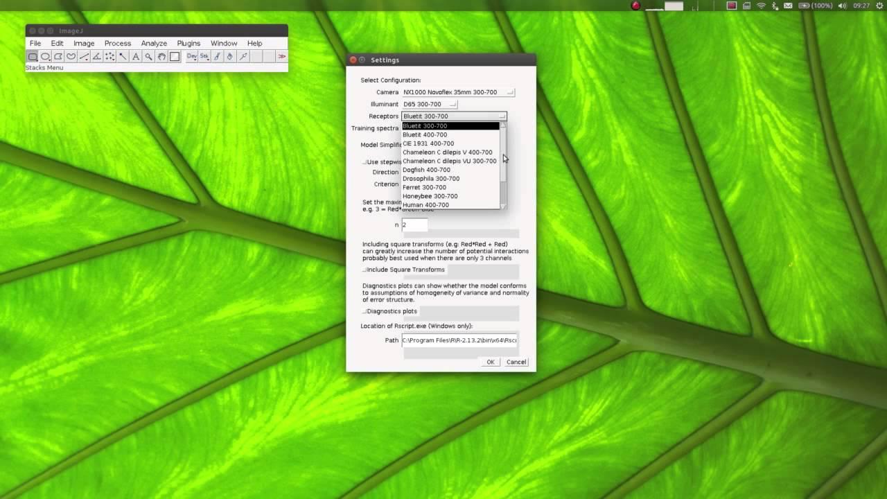 Image Analysis Tools – Jolyon's Website