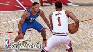 The NBA Finals! NBA 2K19 Derrick Rose My Career Ep. 41