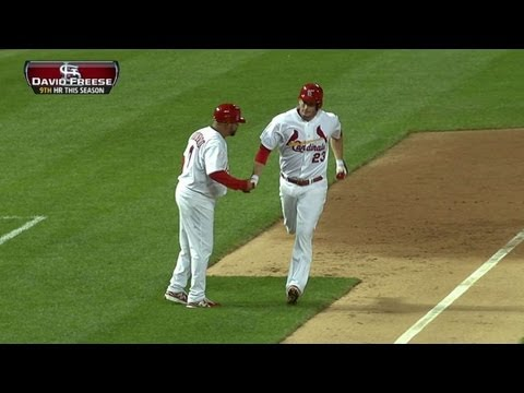 Freese drills a solo shot to pad the lead