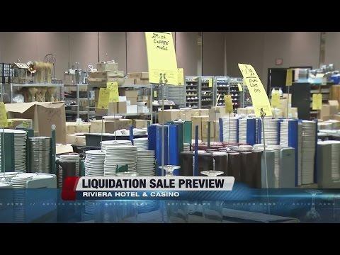 Riviera Las Vegas hosting liquidation sale on Thursday