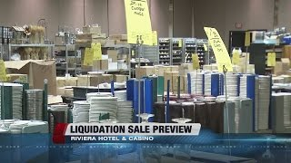 Riviera Las Vegas hosting liquidation sale on Thursday