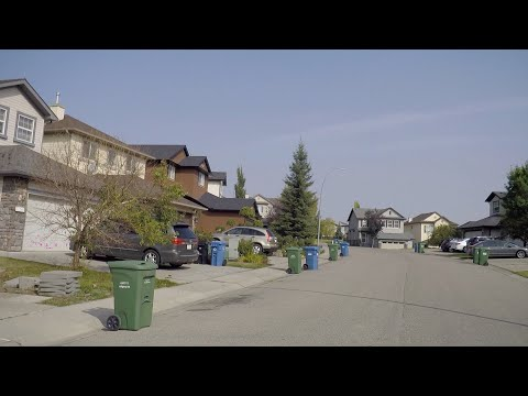 Calgary Canada - Driving in the City. NW Area. Country Hills - Panorama Hills - Coventry Hills Etc.
