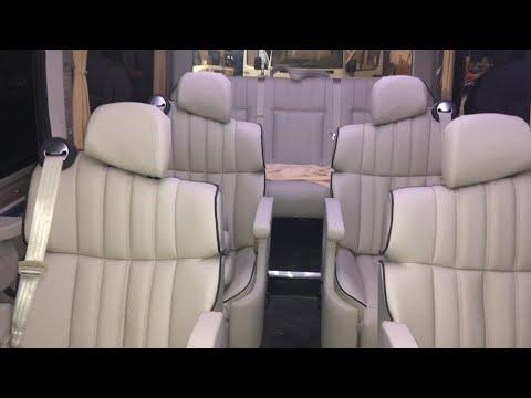 VIP переоборудование Mercedes Sprinter - обшивка салона в Бердичеве - ELITBUS