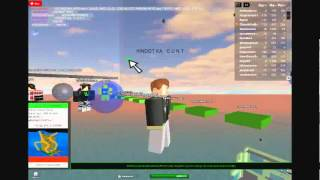 Roblox's Biggest Dickheaded Cunt (Must watch because he said something to the world)