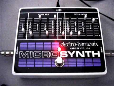 electro harmonix micro synth demo youtube. Black Bedroom Furniture Sets. Home Design Ideas
