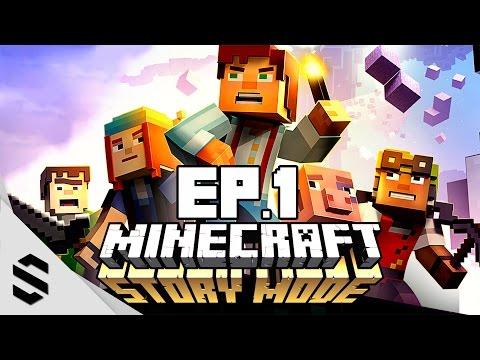 【當個創世神:劇情模式】- PC特效全開中文劇情電影60FPS - 第一集-Episode 1-最強無損畫質- Minecraft : Story Mode(我的世界:故事模式)