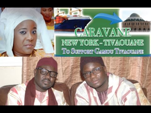 Réception des Dons de la Caravane New-York/Tivaouane, (Gamou Tivaouane 2016)