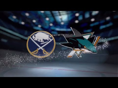 Buffalo Sabres vs San Jose Sharks - October 12, 2017 | Game Highlights | NHL 2017/18. Обзор матча.