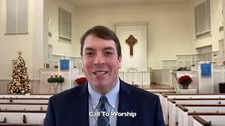 FPC Auburn Worship December 20th, 2020