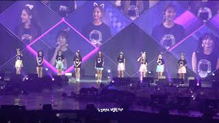 """180818 twiceland in thailand 트와이스""""what is love? acoustic ver."""" 4k"""