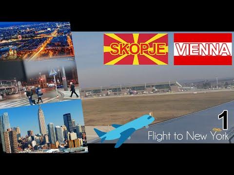 Skopje-Vienna(Flight to New York 2020)(1)