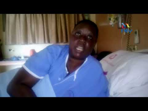 Ruth Odinga reacts to the Supreme Court verdict from her hospital bed