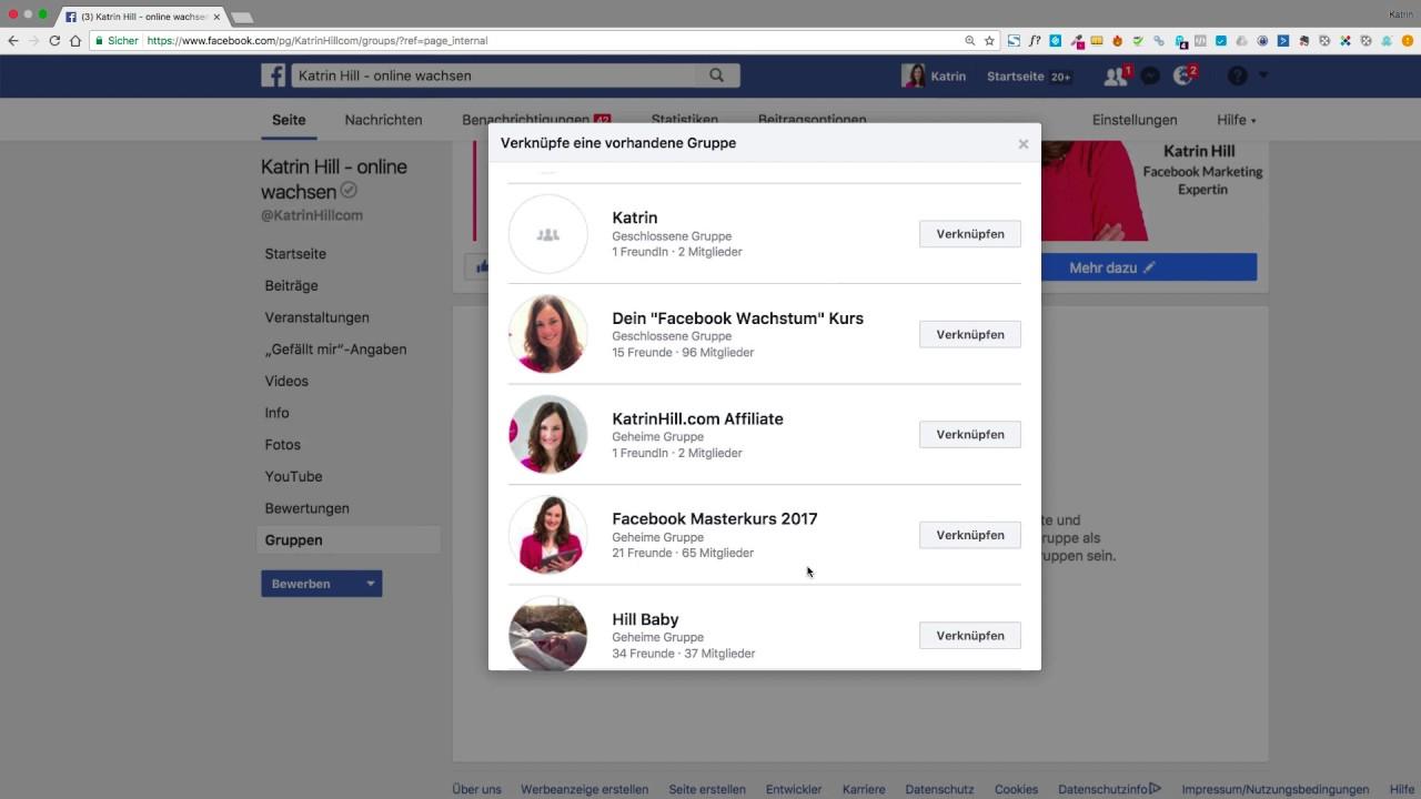 Facebook Gruppe Mit Facebook Ads Bewerben