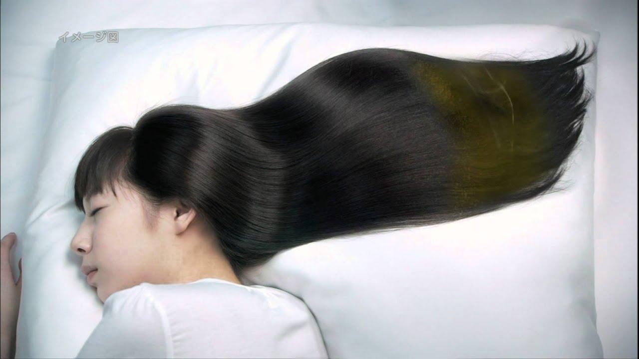 綺麗な髪の夏帆