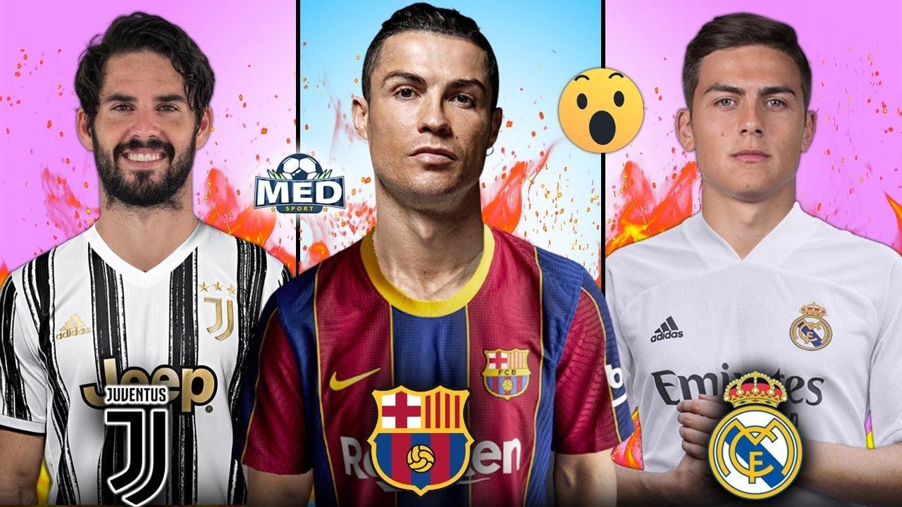 أقوى 10 صفقات ستحدث هذا الصيف   رحيل رونالدو عن اليوفي ونجما ريال مدريد إلى إيطاليا..!!
