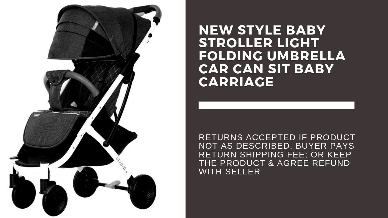 Baby Strollers Target Baby Strollers Target 2019 New Baby Strollers Light Folding Umbrella Car Can Sit Baby Carriage