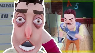 MY NEIGHBOR IS A TEACHER - Hello Neighbor Beta 3 Mod