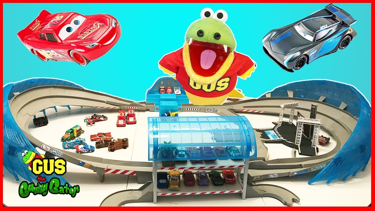 Disney Cars Race Track Set