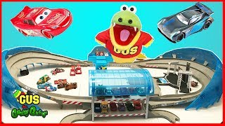 Disney Cars 3 Movie Toys Biggest Race Track Ultimate Florida Speedway Play Set thumbnail