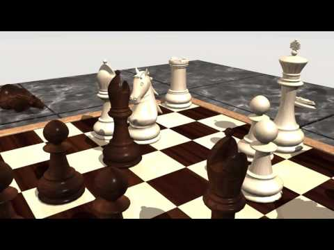 Chess Animation 3D