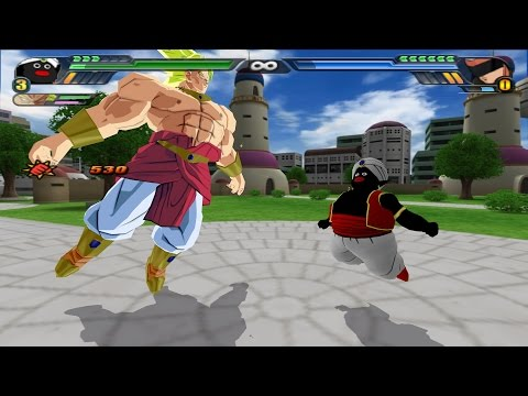 Broly and Mr Popo Fusion with the potaras (Dragon Ball Z Budokai Tenkaichi 3 mod)