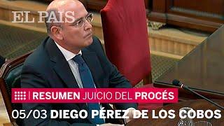 Resumen del undécimo día del juicio del procés   | Diego Pérez de los Cobos
