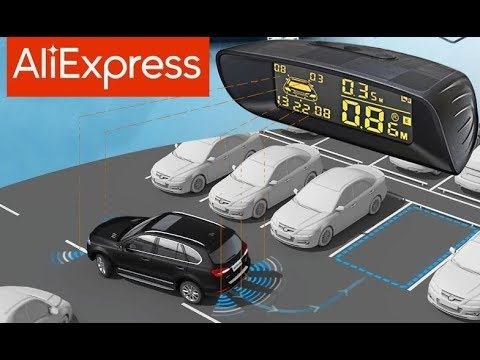 7 Парктроник с Алиэкспресс AliExpress Parktronic Sensor Gadgets In Car Крутые товары для авто