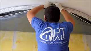 видео Многоуровневые натяжные потолки