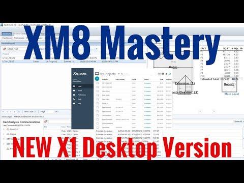 Xactimate Desktop X1 Version Upgrade | XM8