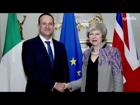 Brexit: Theresa May meets Leo Varadkar for Brexit talks  |  UK news today