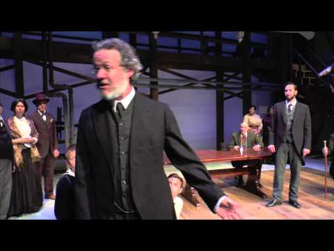 Scene from An Enemy of the People at Bristol Riverside Theatre