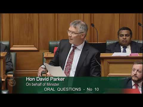 Question 10 - David Seymour to the on Behalf of Minister of Energy and Resources