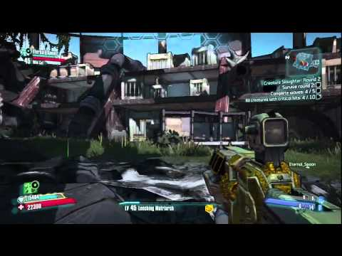 Borderlands 2 - Creature Slaughter Dome Hands On |