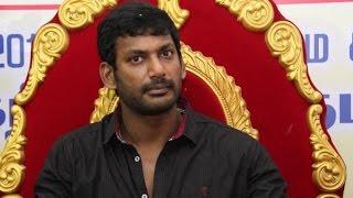 Don't Make Politics on my Speech Says Vishal spl youtube video news