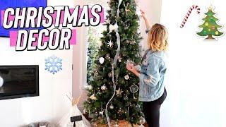 Decorating for Christmas!! Vlogmas Day 4
