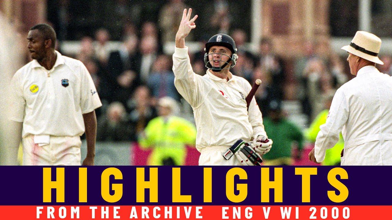 Download West Indies Blasted out for 54 in Low-Scoring Thriller!   Classic Match   Eng v WI 2000   Lord's