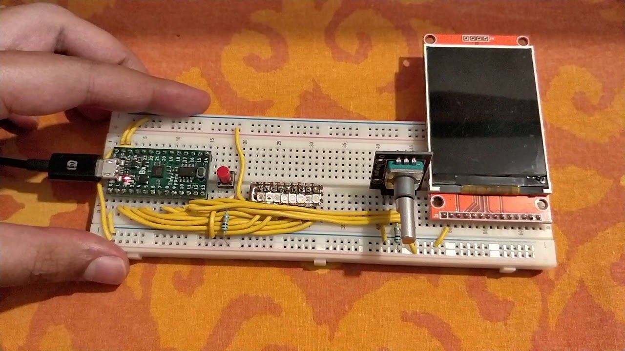 LED Walker on a TinyFPGA BX board