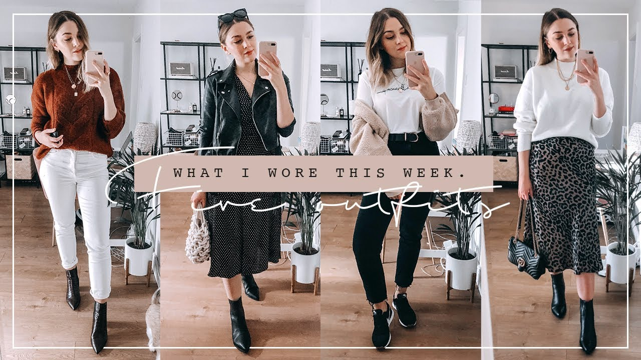 WHAT I WORE THIS WEEK | FIVE AUTUMN OUTFITS | I Covet Thee 2