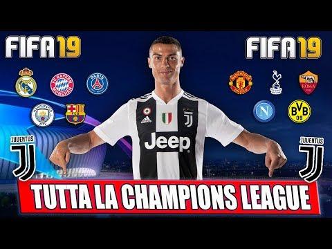 FIFA 19: TUTTA LA CHAMPIONS LEAGUE DELLA JUVENTUS CON RONALDO!! | FIFA 19: CHAMPIONS LEAGUE #1