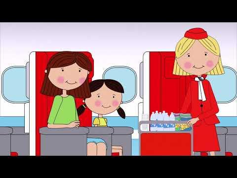 Suzie goes on an aeroplane
