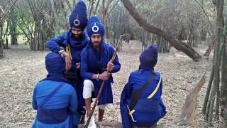 Nihang singh gol (chakr) dumalea Wale || Veer Khalsa Gatka group (reg) barnala