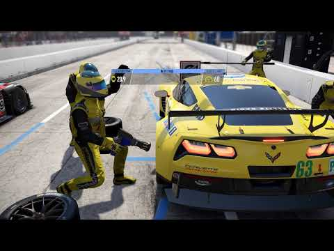 Project CARS 2 - Chevrolet Corvette C7.R @ Long Beach