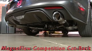 2015-2017 Mustang GT MagnaFlow Competition Series Cat-Back Sound Clips
