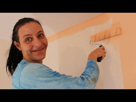 Как легко и быстро покрасить стену Новичку без Опыта