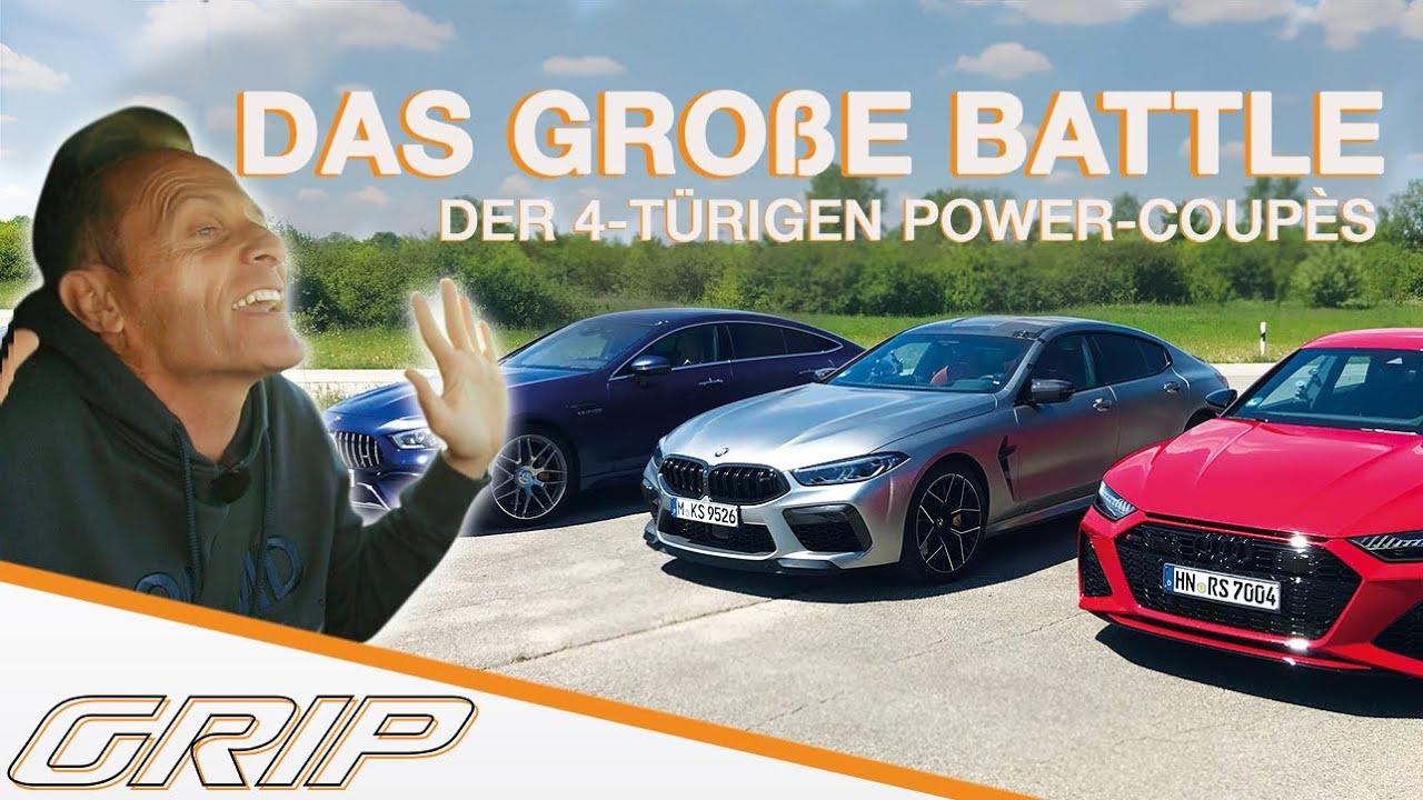 Das große Battle der 4-türigen Power Coupés mit Matthias und Niki: Wer wird gewinnen?  I GRIP