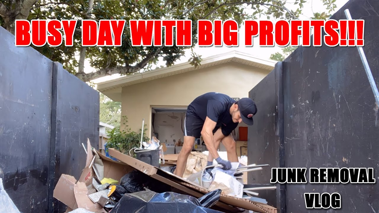 Busy Day Always Means Big Profits! - Junk Removal Business Vlog